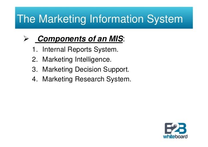 impacts of marketing research to marketer
