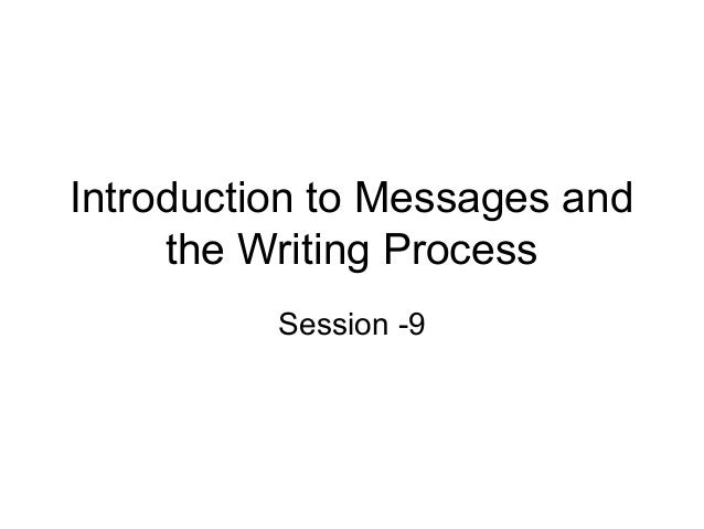 essays process communication Effective communication essay effective communication - 538 words effective communication effective communication is a process through which the sender conveys a message that the receiver readily receives and understands.