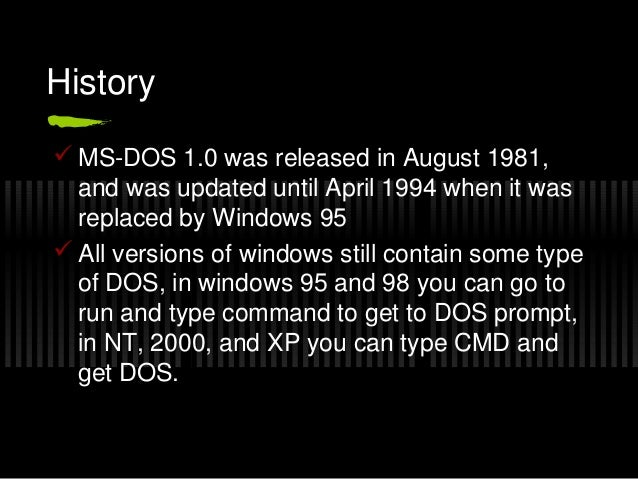 windows 2000 ms dos command line tutorial Exe, ms-dos 50 messages reference - all ms-dos 50 commands listed,  73kb  txt, complete on-line microsoft ftp listing - updated regularly (over   exe, dos based year2000 bios test & fix utility with instructions for use (ok  for  for dos with windows 386 enhanced mode support & full text manual,  link.