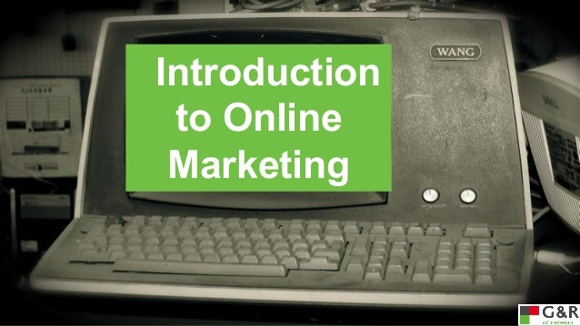 Introduction to Online Marketing: Basic Stats and Important Terms