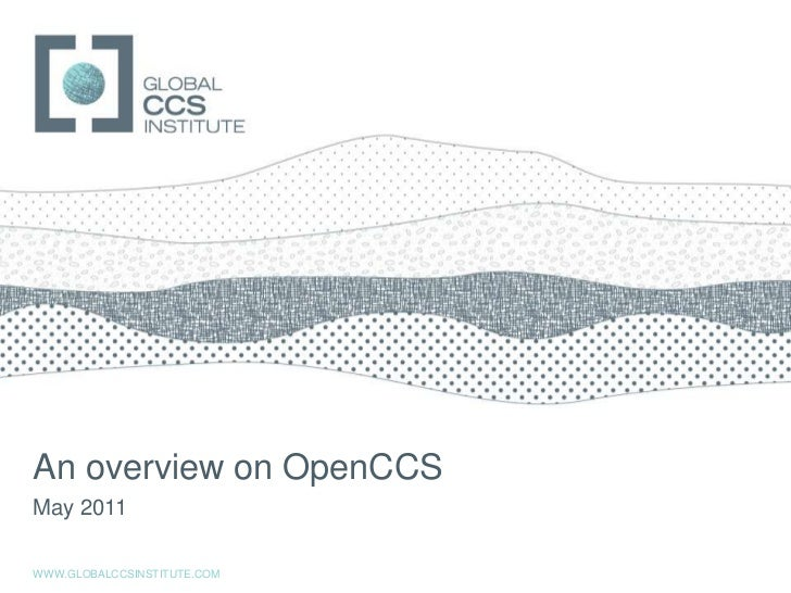 Introduction to OpenCCS