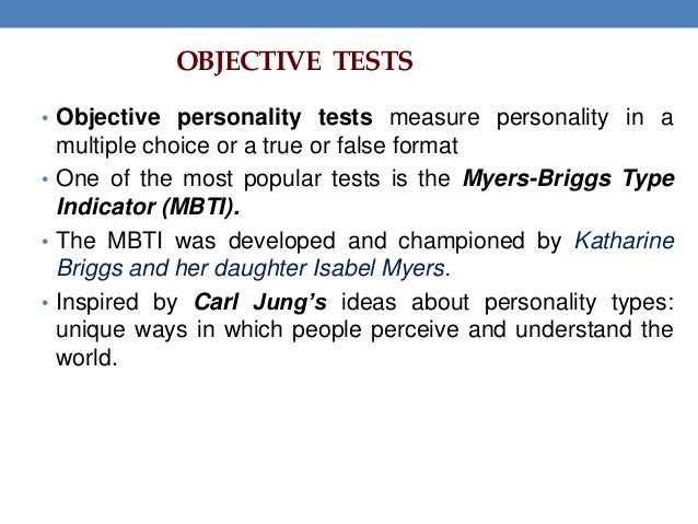 Essay Personality Test