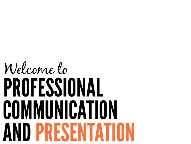 Professional communication skills resume