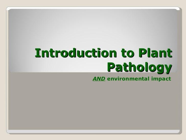 Introduction to-plant_pathology