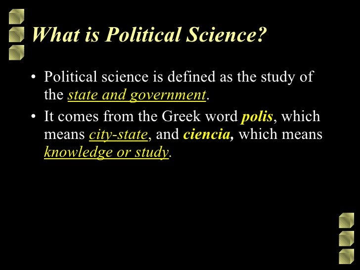 What is the significance of political science in the study of law ?