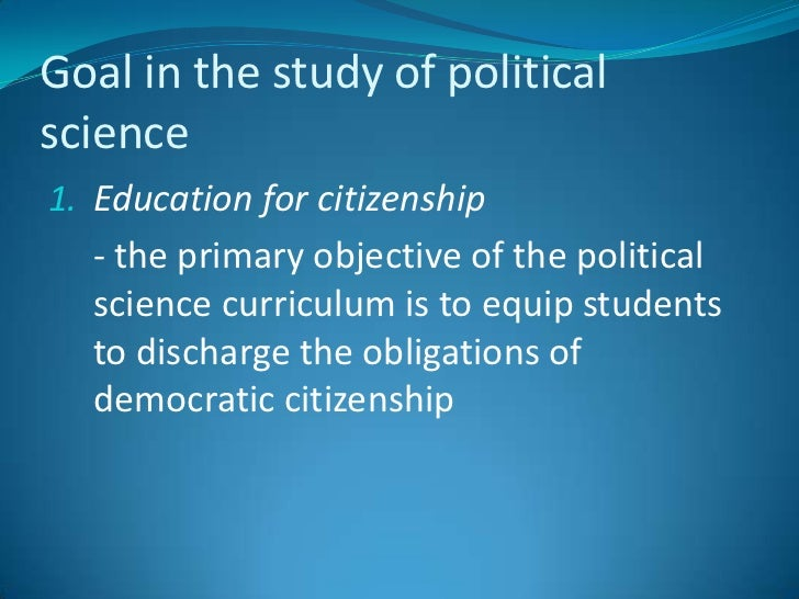 introduction to political science An introduction to political science  approaches, key concepts in political science, political theory and political ideo-logy, comparative politics and us politics, and international relations the text draws on academic and applied contributions to political discourse.