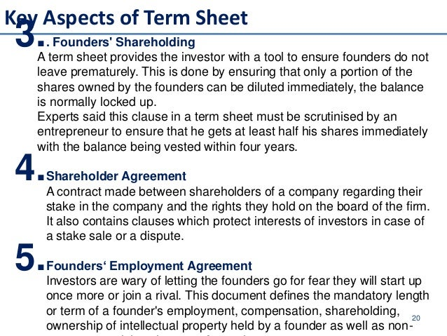 pe term sheet for equity If you are looking for a common stock term sheet for a financing, i've attached one at the link below i had a friend call me this morning and tell me she couldn't find a good, short common stock term sheet online.