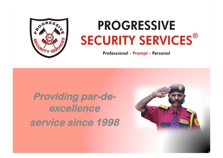 Introduction To Progressive Security Services