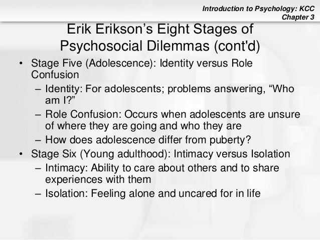 8 stages of psychosocial dilemmas Eight stages of identity and psychosocial development personal issues led to study erik erikson's eight stages of identity & psychosocial development with.