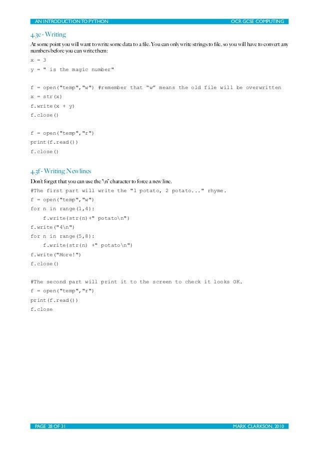 File Write Overwrite Python: full version free software