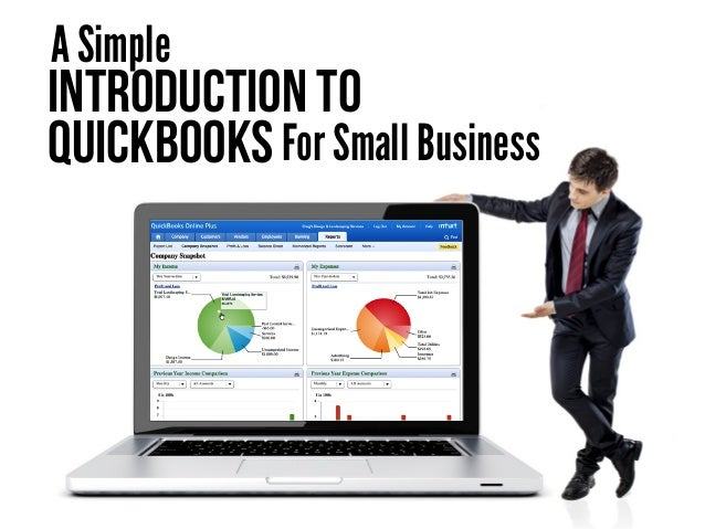 Introduction To Quickbooks A Simple For Small Business