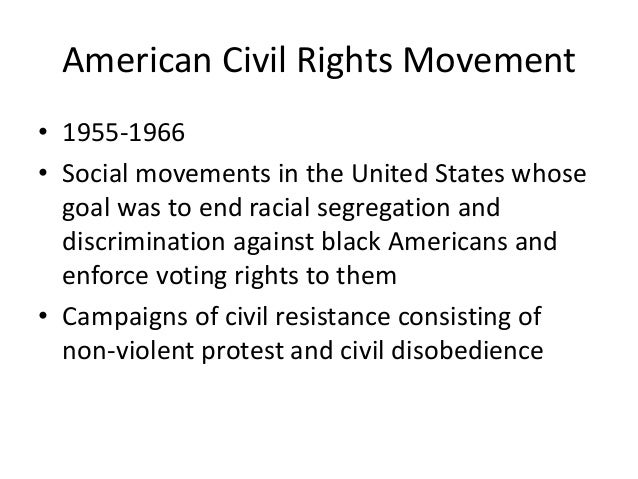 Essays on civil rights movement