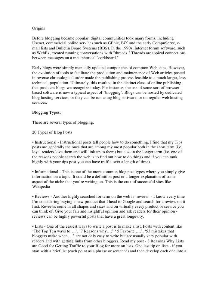 Essays On Media