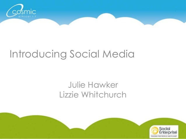 Introduction to Social Media (half day)