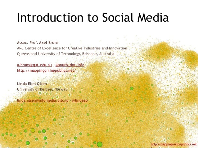 Introduction to Social Media (Week 1)