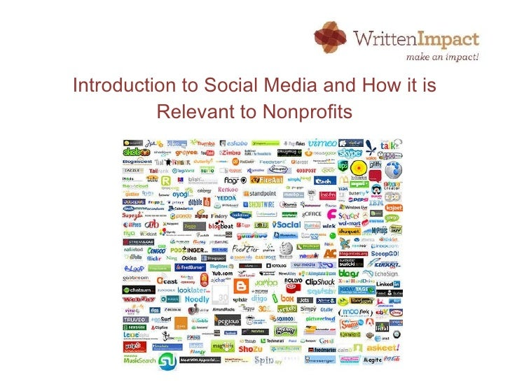 Intro to Social Media for Non-profits by Written Impact