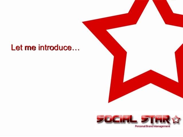Let me introduce…Let me introduce…