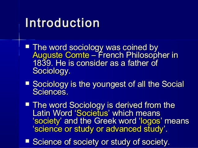 importance of sociology uses of sociology Sociology of health is a field of inquiry that treats health, illness and their management as problems in the understanding of society and how this understanding helps address problems in the management of health and illness.