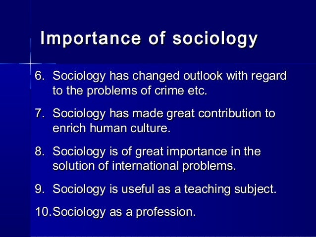 introduction of sociology essay