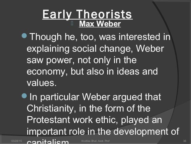 an introduction to karl marxs and max webers ideas on the changes in society Amazoncom: classical social theory and modern society: marx, durkheim,   karl marx, émile durkheim, and max weber are indispensable for  of the ideas  and sociological vision of marx, durkheim, and weber is unique in  a clear and  compelling--and beautifully written-- introduction to the classic social theorists.