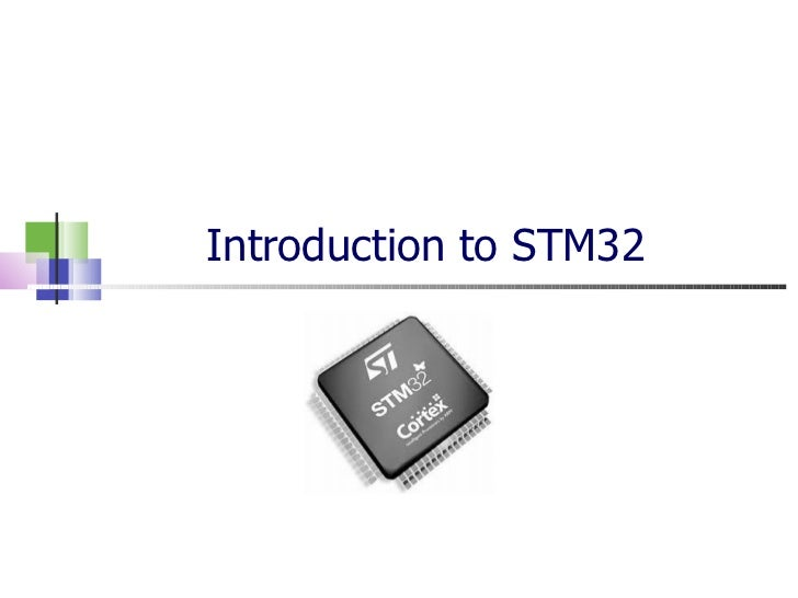 Introduction to stm32-part1