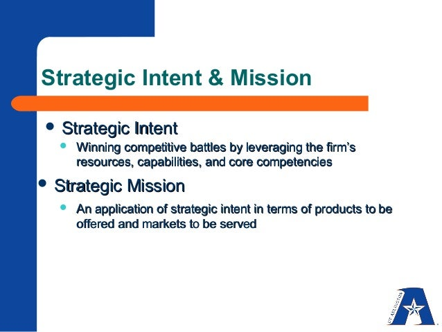 strategy formulatin and impl Three aspects of strategy formulation, corporate-level strategy successful implementation of this strategy requires the company to have the resources.