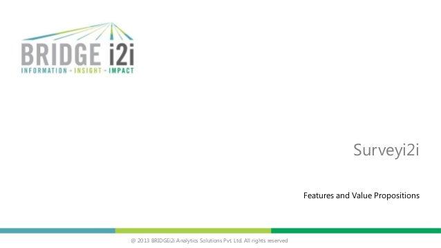 Introduction to Surveyi2i