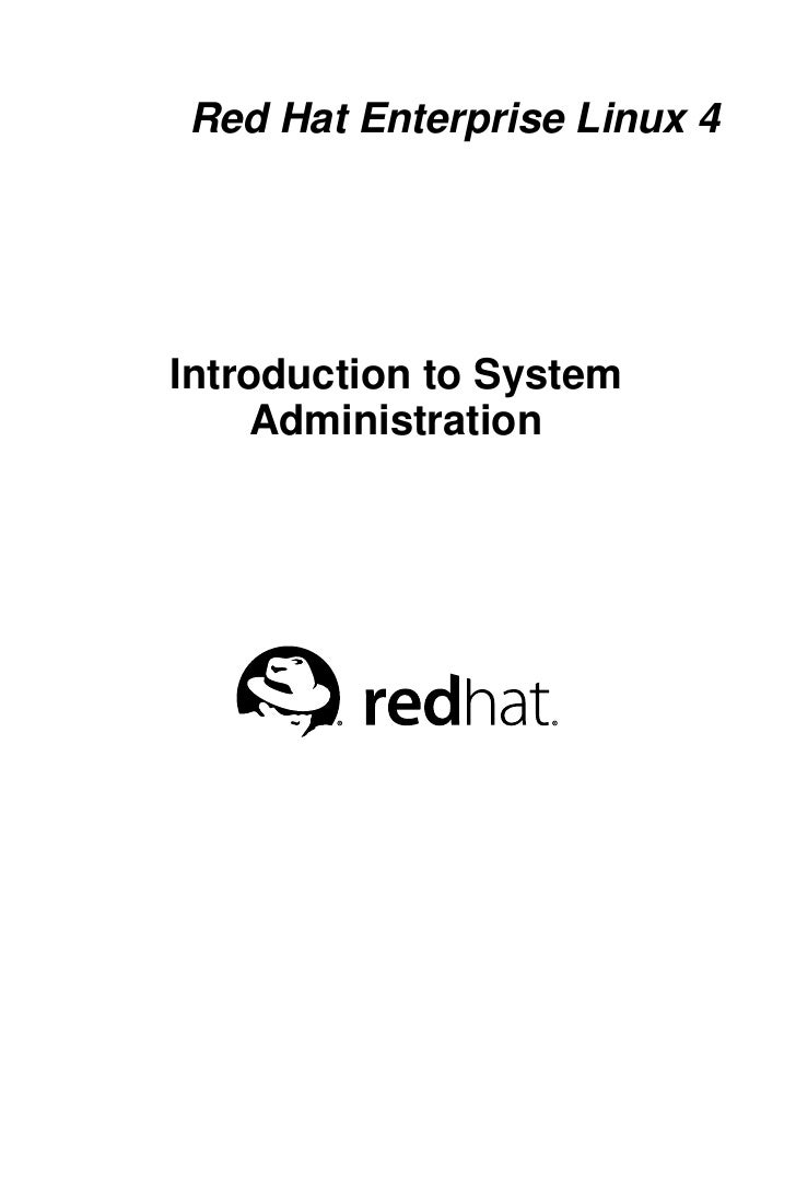 Introduction to system_administration
