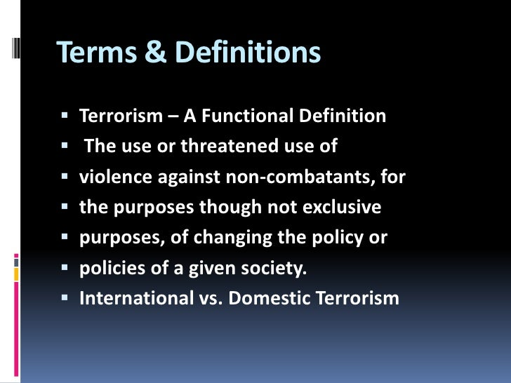 hammerskin domestic terrorists essay Start studying terrorism, intelligence, and homeland security, chapter 1 homegrown terrorists domestic terrorism.