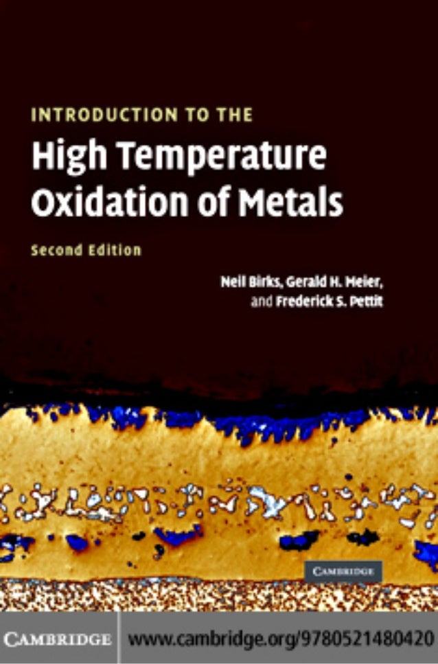 Introduction to the_high_temperature_oxidation_of_metals