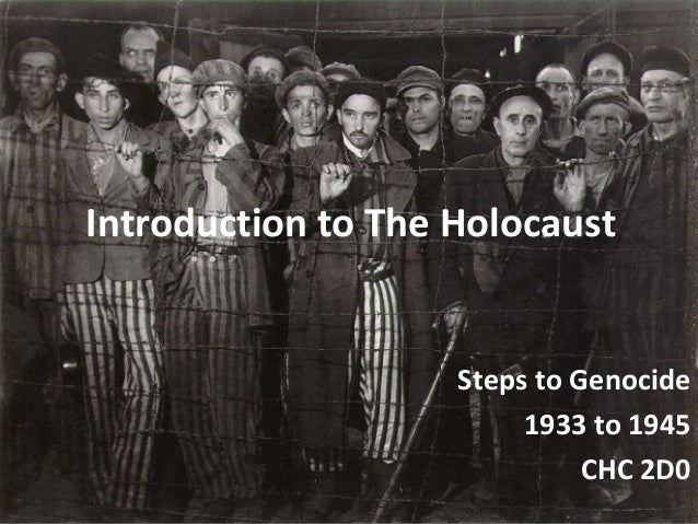 Introduction to theholocaust[1][1]