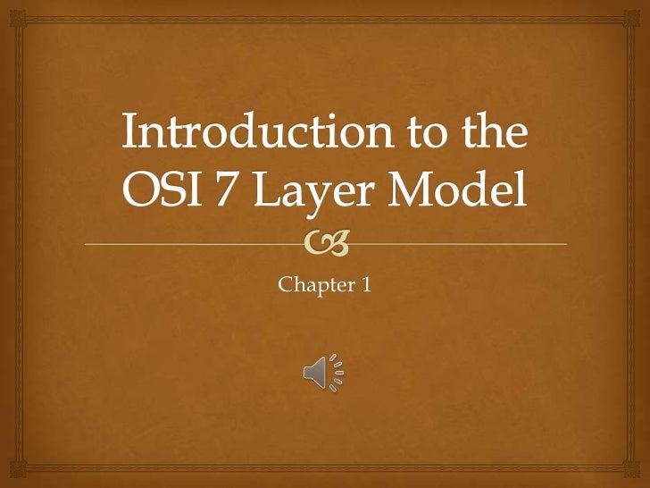 osi model layers explained pdf