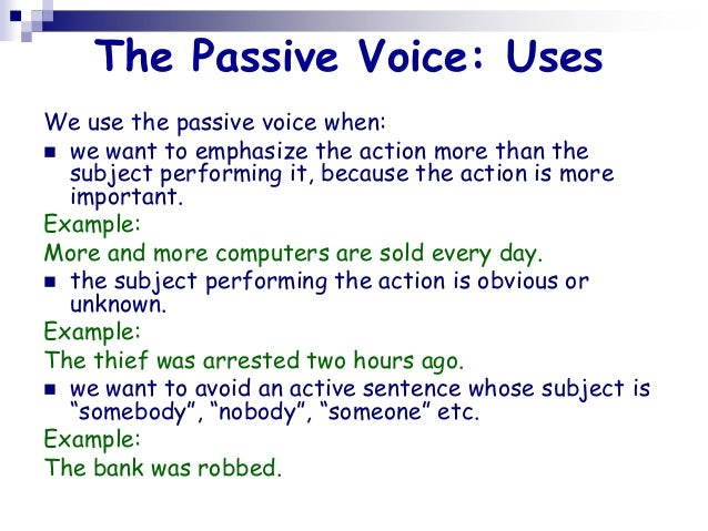 avoiding passive voice in essays Should i avoid the passive voice in writing - free download as word doc (doc), pdf file (pdf), text file (txt) or read online for free many may advise you to.