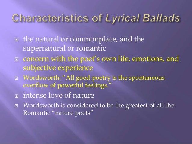 coleridge in the romantic era essay