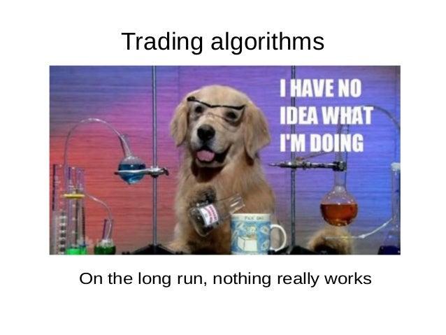 Trading bot in python