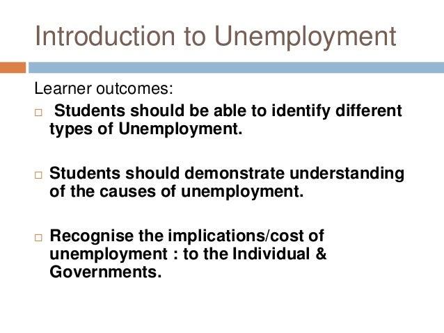 unemployment introduction Unemployment benefits and unemployment in the great recession:  unemployment benefits and unemployment in the  1 introduction unemployment in the us rose.