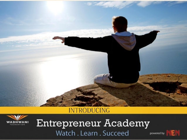 Introduction to Entrepreneur Academy
