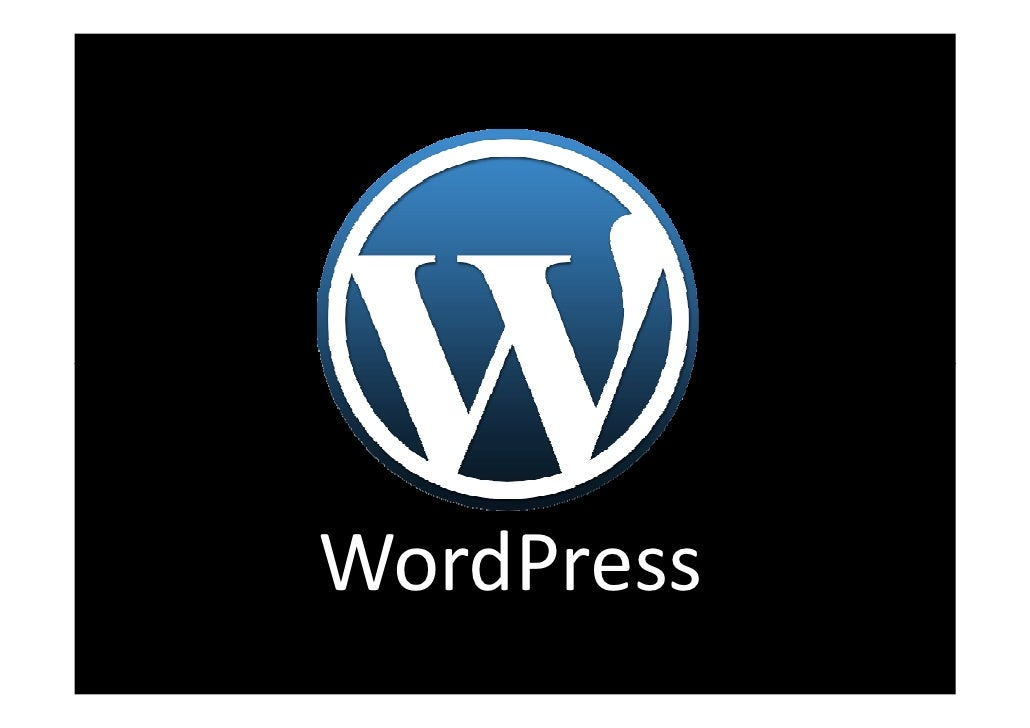 Introduction To Wordpress By Keng