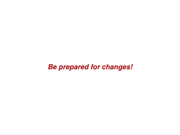 Be prepared for changes!                                Hortis GRC SA - www.hortis.ch Introduction à XP