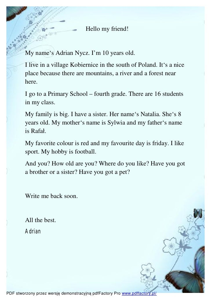 Introductory Letters Boys Bz1