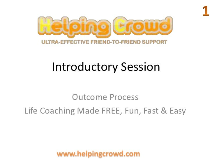 Introductory session1.2