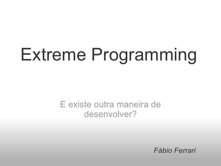 Introducao XP