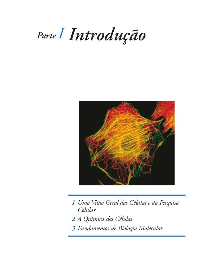 Parte   I Introdução         1 Uma Visão Geral das Células e da Pesquisa           Celular         2 A Química das Células...