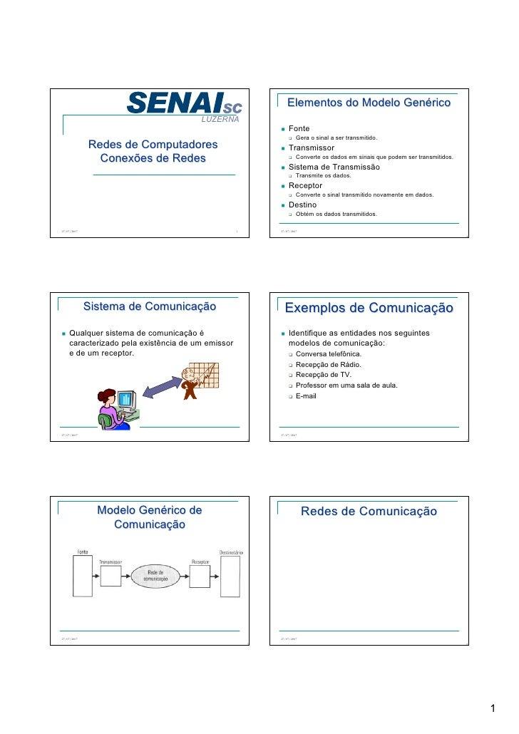 Elementos do Modelo Genérico                                       LUZERNA                                                ...