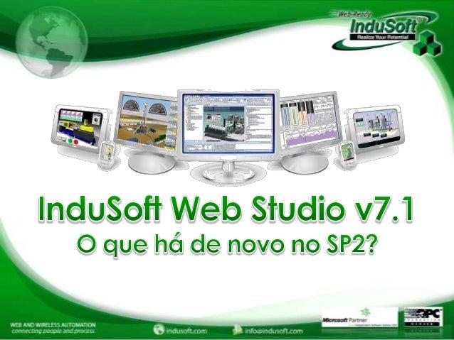 Introdução ao Service Pack 2 do InduSoft Web Studio v7.1