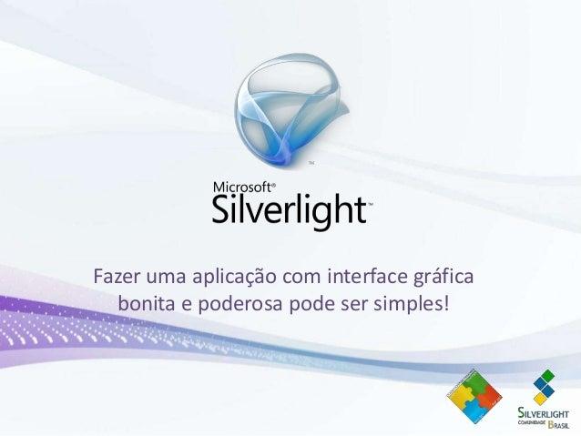 Introdução ao silverlight