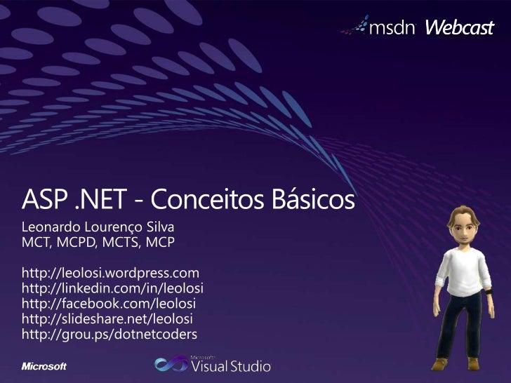 ASP.NET - Conceitos Básicos
