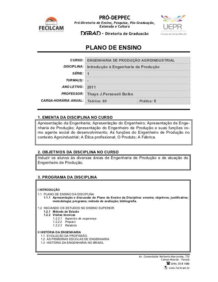 PRÓ-DEPPEC                         Pró-Diretoria de Ensino, Pesquisa, Pós-Graduação,                                      ...