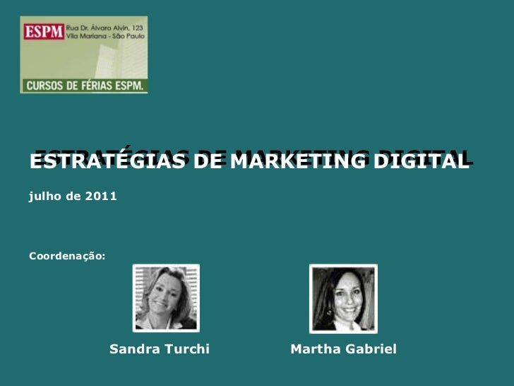 Introdução marketing digital espm jul 2011 v3