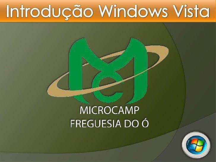 Introdução Windows Vista<br />